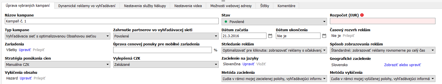 spustenie Online Zoznamka profil