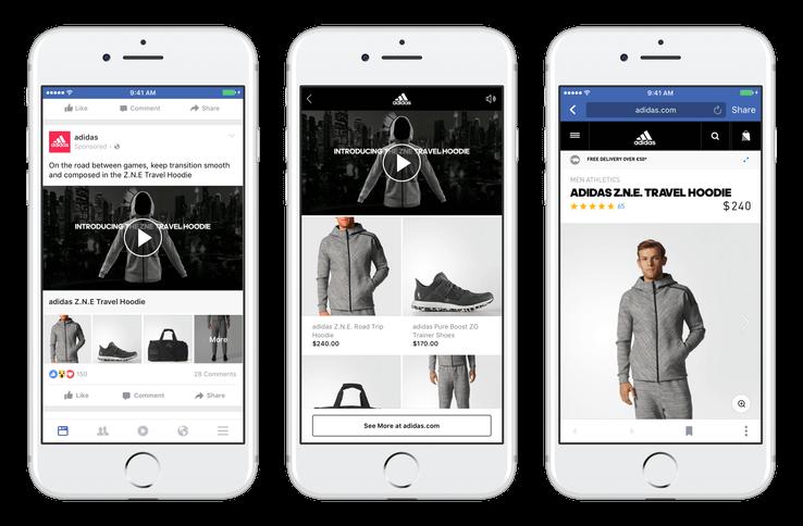 Facebook Collections: Produkt v každom Facebook poste