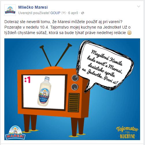 facebook komunikacia maresi brand equity
