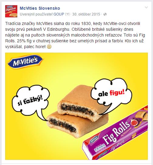 propagacia produktu facebook reklama