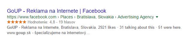 Hviezdičky vo vyhľadávaní Google