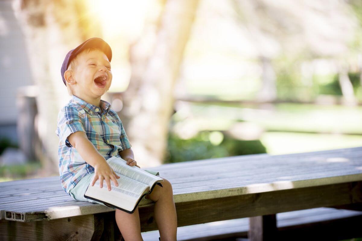 Šťastné dieťa robí SEo správne