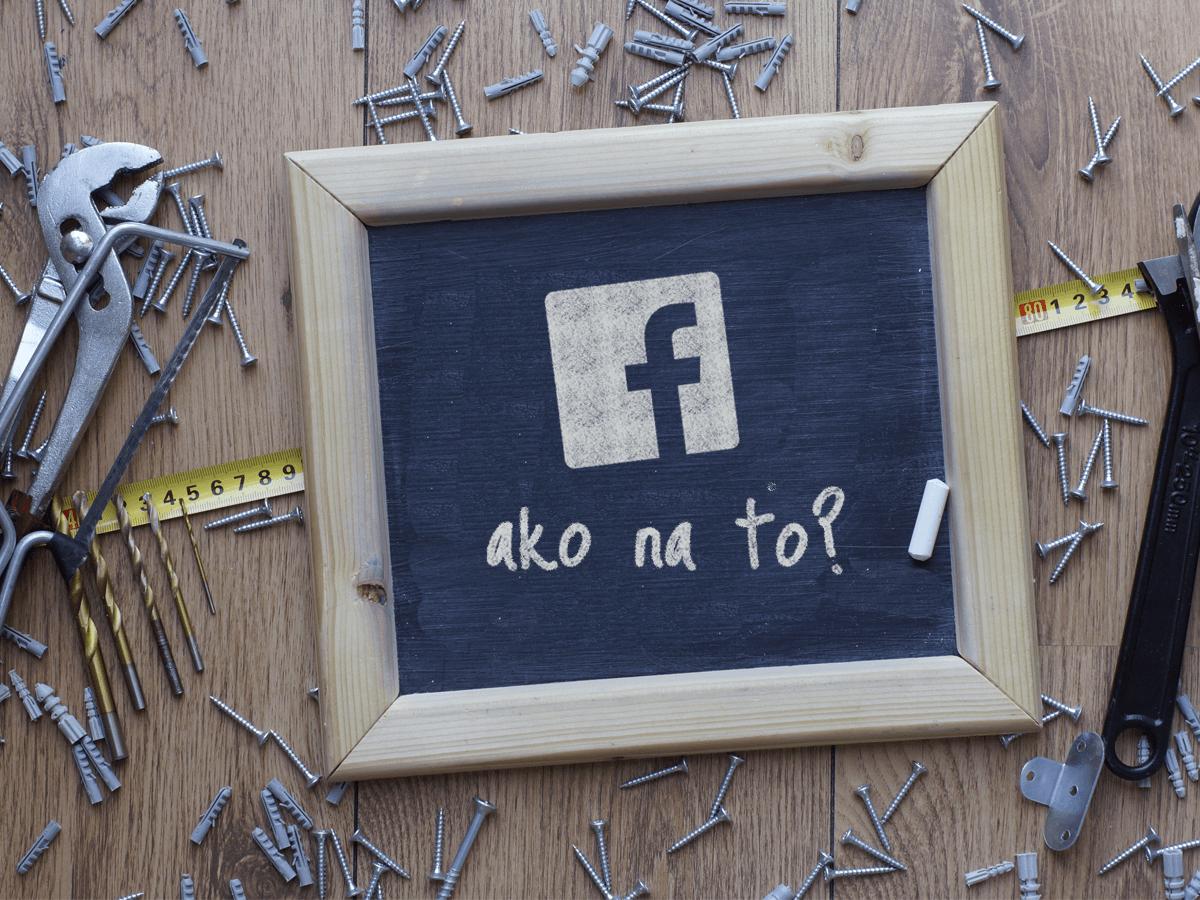 Ako vytvoriť úspešnú stránku na Facebooku? (1/4)