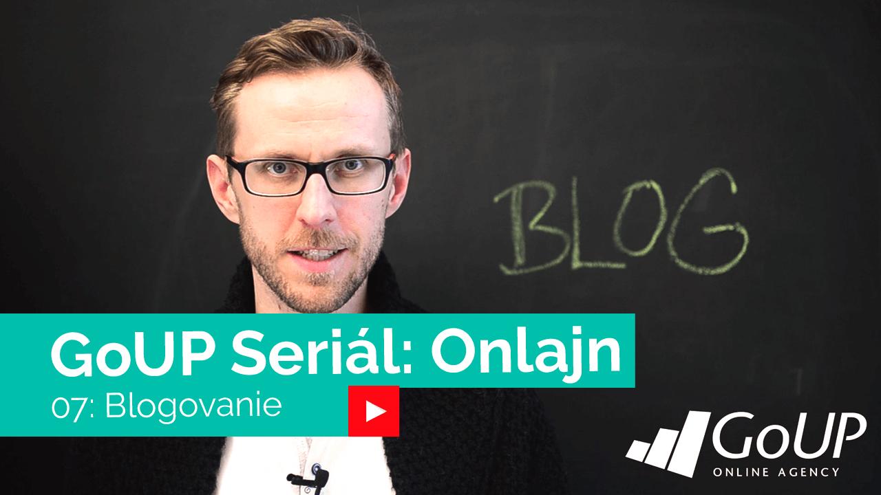 Blogovanie / Seriál Onlajn